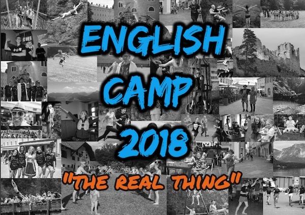 English Camp Austria 2018 Flyer