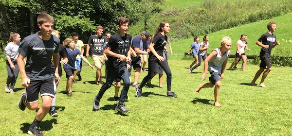 English Camp Austria camp games