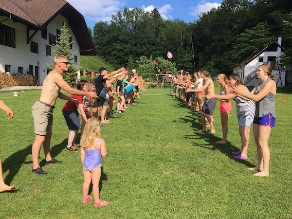 English Camp Austria Salzburg camp